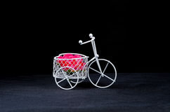 mini vasos da bicicleta Fotografia de Stock Royalty Free