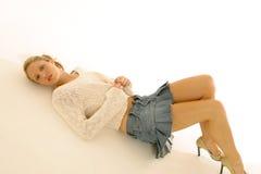 Mini verticales de jupe photographie stock