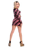 Mini vestito biondo Fotografia Stock Libera da Diritti