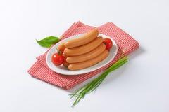 Mini Vienna sausages Stock Image
