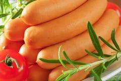 Mini Vienna sausages Royalty Free Stock Photo