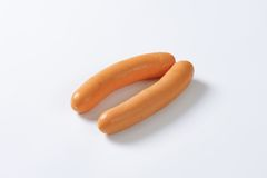 Mini Vienna sausages Royalty Free Stock Image