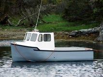 Mini vissersboot Stock Foto