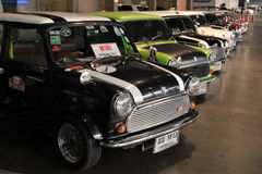 Mini voiture d'Austin au 3ème autosalon international 2015 de Bangkok le 27 juin 2015 à Bangkok, Thaïlande photo stock