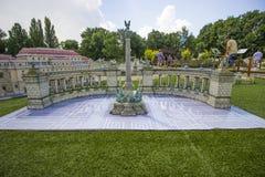 Mini Węgry, kwadrat bohaterzy, Budapest Fotografia Stock