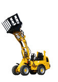 Mini wheel loader Stock Photo