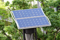 Mini Wind & Solar Powered Cell Stock Image
