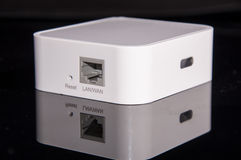 Mini wireless router Royalty Free Stock Images