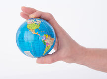 Mini World Globe. The world globe at your childs fingertips Royalty Free Stock Images