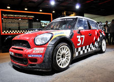 Mini WRC on IAA Frankfurt 2011 Royalty Free Stock Photography