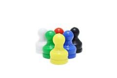 Mini xadrez imagem de stock