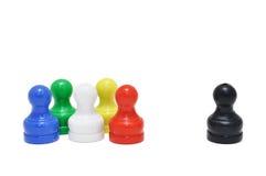 Mini xadrez fotografia de stock