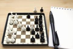 Mini xadrez decorativa Fotos de Stock Royalty Free