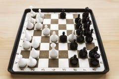 Mini xadrez decorativa Foto de Stock Royalty Free
