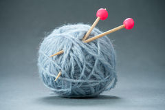 Mini Yarn Ball Stock Image