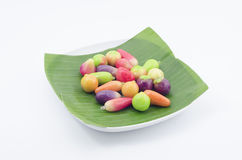 Mini Yellow Bean Fruits (Kao Noom Look Choup) (1) immagini stock libere da diritti