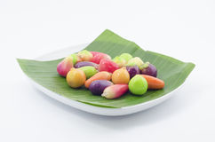 Mini Yellow Bean Fruits (Kao Noom Look Choup) (3) immagini stock