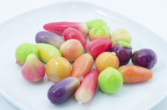Mini Yellow Bean Fruits (Kao Noom Look Choup) (9) photo stock