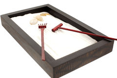 Mini zen garden Royalty Free Stock Photography