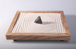 Mini zen garden Royalty Free Stock Photos