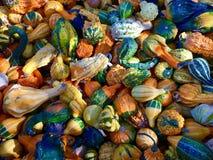Mini zucche Fotografia Stock Libera da Diritti