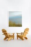 Miniatur-adirondack Stühle Stockfoto