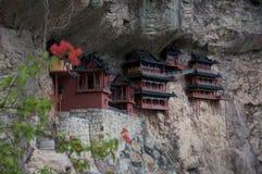 Miniatur eines chinesischen Tempels Stockfotografie