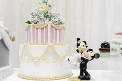 Miniatur-Mickey und Minnie lizenzfreie stockbilder