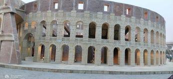 Miniatur von Roman Colosseum lizenzfreie stockbilder