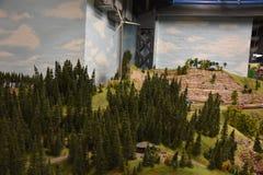 Miniatur Wunderland à Hambourg, Allemagne Images stock