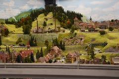 Miniatur Wunderland à Hambourg, Allemagne Photo stock