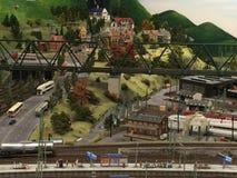 Miniatur Wunderland à Hambourg, Allemagne Photographie stock libre de droits