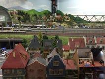 Miniatur Wunderland à Hambourg, Allemagne Image stock