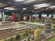Miniatur Wunderland in Hamburg, Germany Stock Image