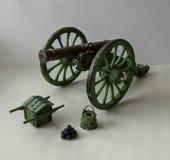 miniatura cannone Immagini Stock Libere da Diritti
