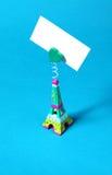Miniatura da torre Eiffel Fotografia de Stock