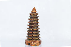 Miniatura de una capilla budista Imagen de archivo