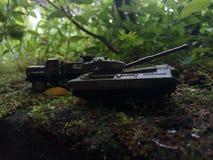 Miniatura del carro armato immagine stock
