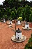 Miniatura del mulino a vento Fotografie Stock Libere da Diritti