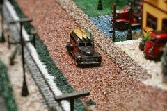 Miniatura dell'automobile immagine stock libera da diritti