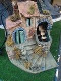 Miniatura di un mulino a acqua Immagine Stock