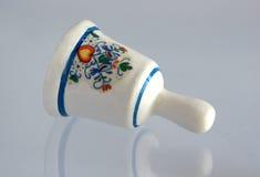 Miniatura do sino da porcelana do vintage Fotos de Stock