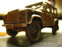 Miniatura oficial do defensor de land rover Fotografia de Stock Royalty Free
