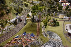 Miniatura Wunderland w Hamburg, Niemcy obrazy royalty free