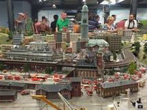 Miniatura Wunderland w Hamburg, Niemcy fotografia royalty free