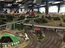 Miniatura Wunderland w Hamburg, Niemcy zdjęcia royalty free