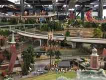Miniatura Wunderland w Hamburg, Niemcy obraz stock