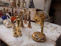 Miniaturas de Jaisalmer, Rajasthán [hecho a mano] Imágenes de archivo libres de regalías