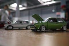 Miniaturautos Stockbild