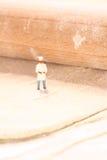 Miniaturchefgebäck F Stockfotografie